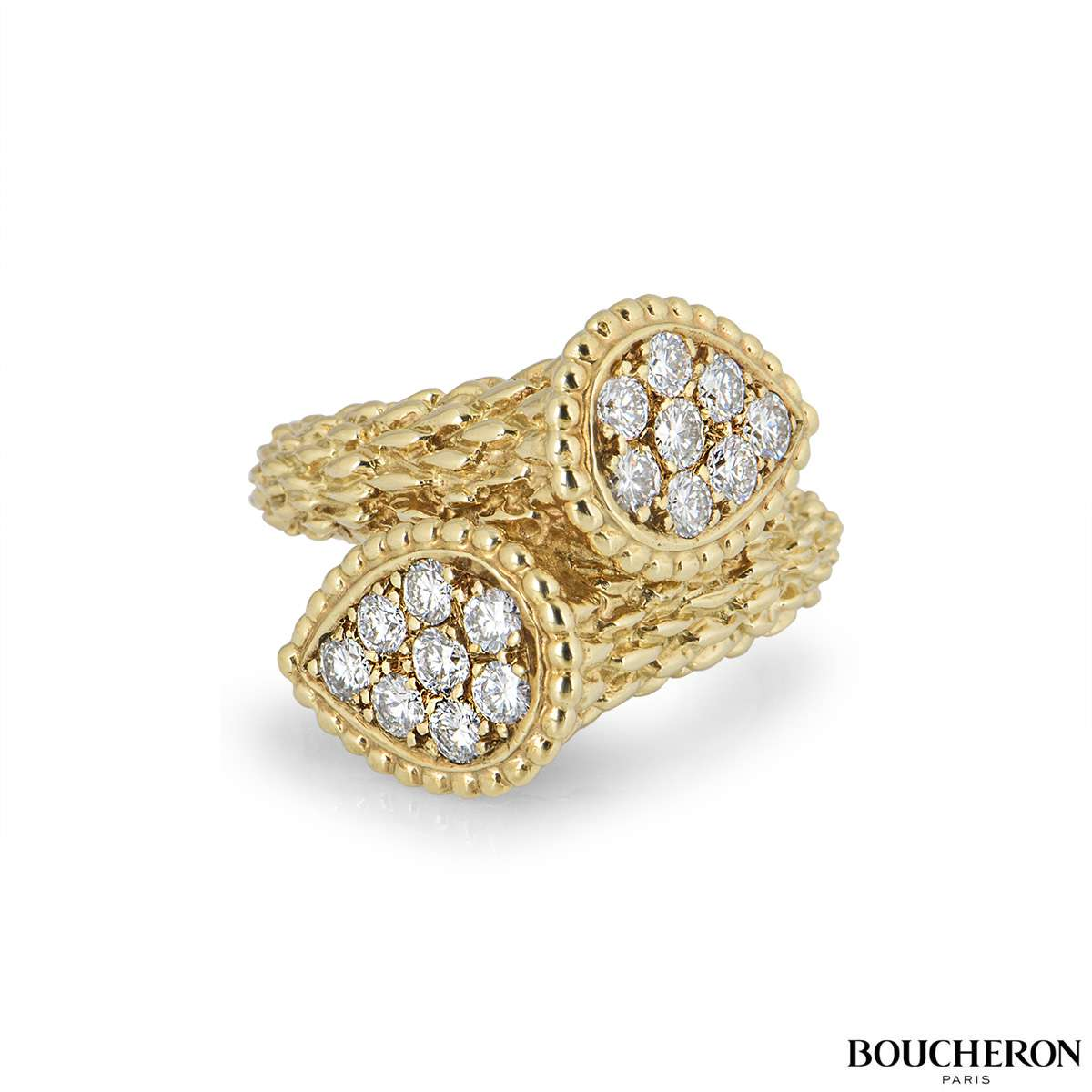 Boucheron Yellow Gold Serpent Bohème Ring JRG04BAB1